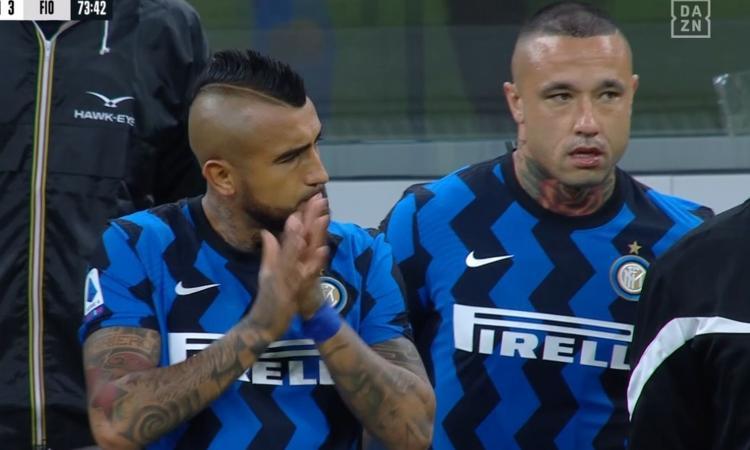 Vidal e Nainggolan